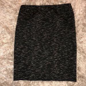 Ann Taylor Scuba Pencil Skirt